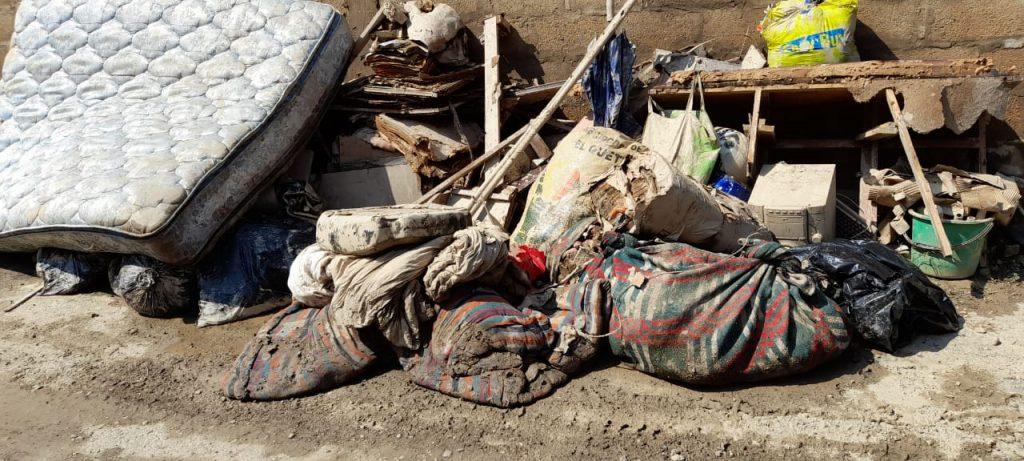 Imágenes de comunidades en morales Izabal afectadas por el huracán ETA.